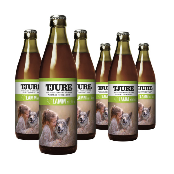 Hund - Lamm & Reis - Six Pack 6 x 320 ml