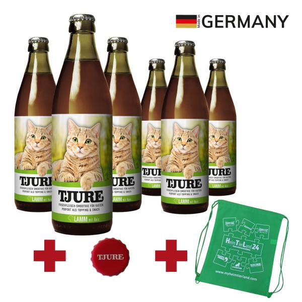 """TJURE Katze """"Lamm"""" Six Pack 6 x 220 ml"""