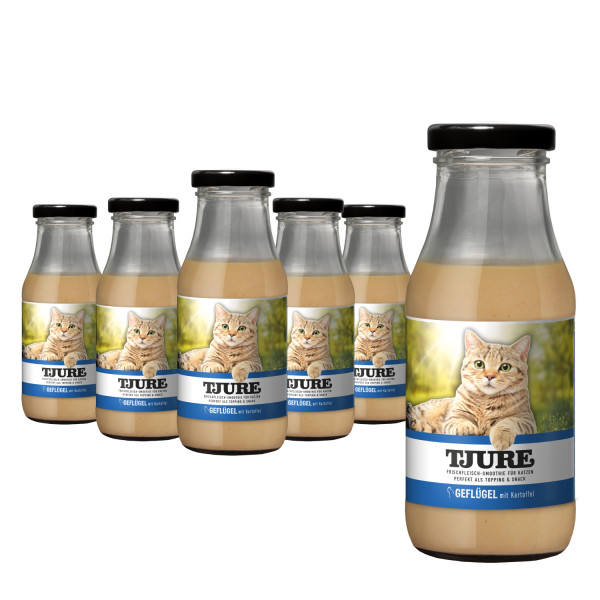 Katze - Geflügel & Kartoffel - Six Pack 6 x 220 ml