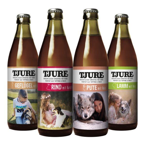 Hund - All in One 4 x 320 ml - alle 4 leckeren Sorten im Vorteilspaket