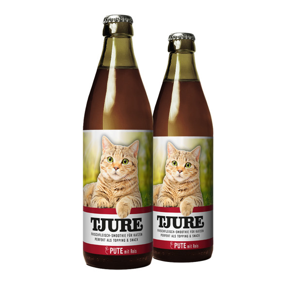 """TJURE Katze """"Pute"""" Doppelpack 2 x 220 ml"""