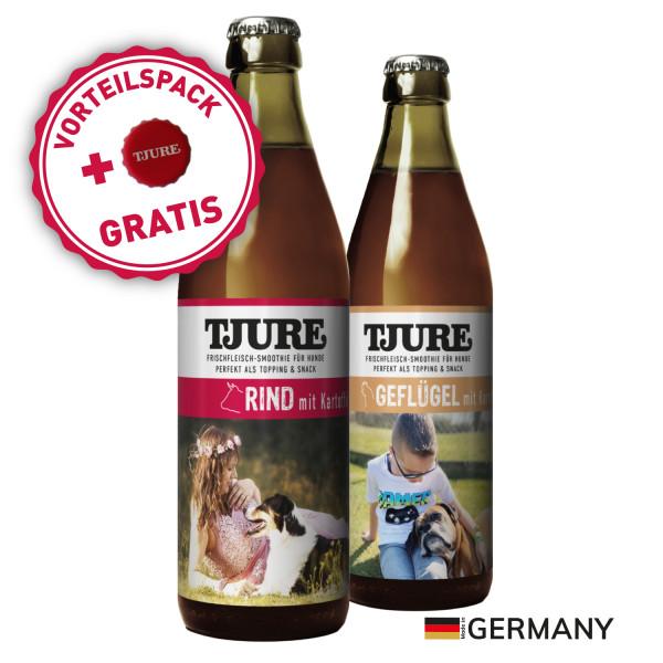"Mixpaket Hund - 1 x ""Rind"" & 1 x ""Geflügel"" + tolle Extras"