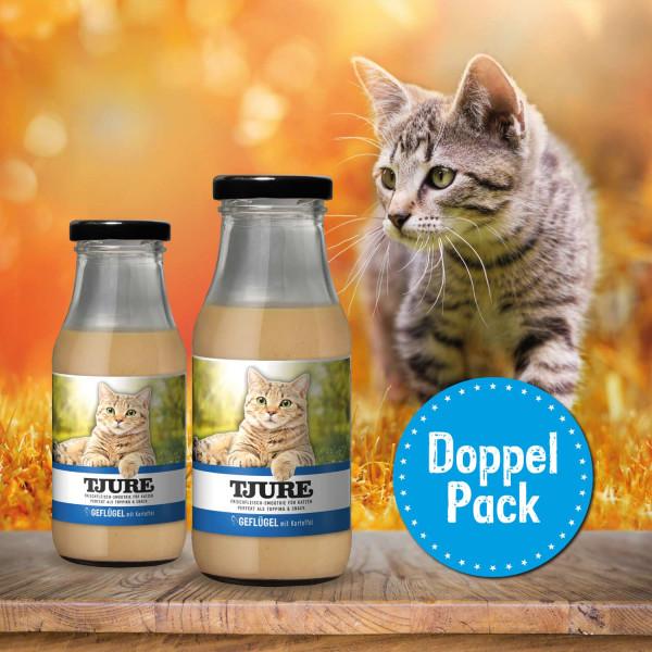 Katze - GEFLÜGEL & KARTOFFEL - Doppelpack 2 x 220 ml