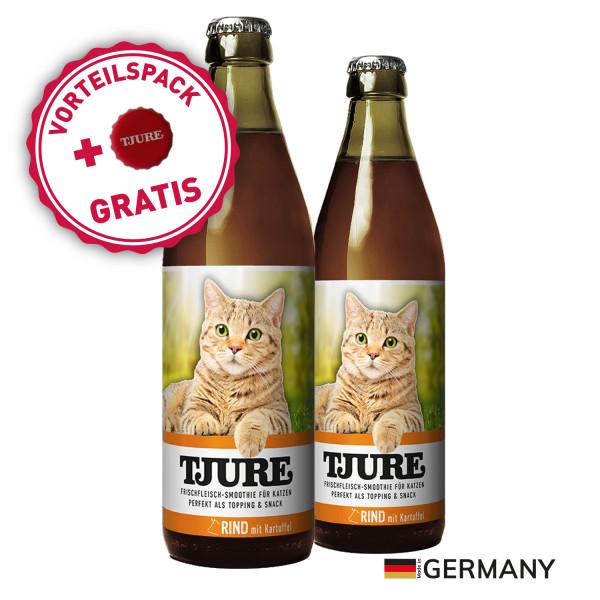 """TJURE Katze """"Rind"""" Doppelpack 2 x 220 ml"""